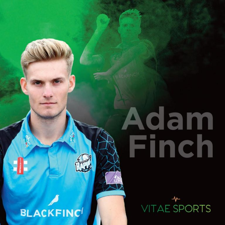 Worcestershire Paceman Adam Finch joins Vitae Sports