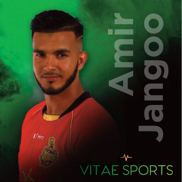 Trinidad & Tobago's Amir Jangoo joins the Vitae Team
