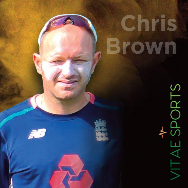 ECB Coach Chris Brown joins Vitae Sports