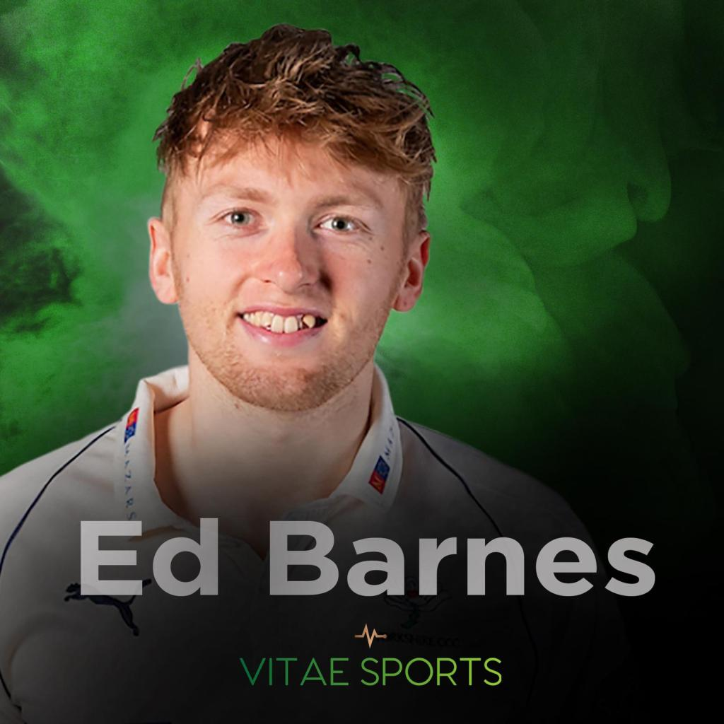 One to watch! Yorkshire paceman Ed Barnes – in profile!