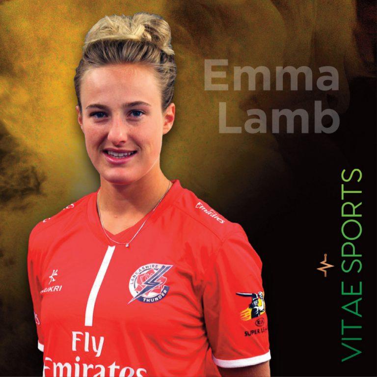 Emma Lamb stars for England Academy