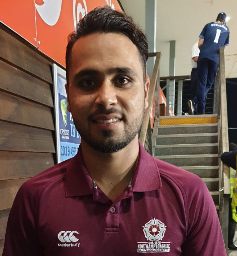 Faheem Ashraf re-joins Steelbacks for the 2020 Season