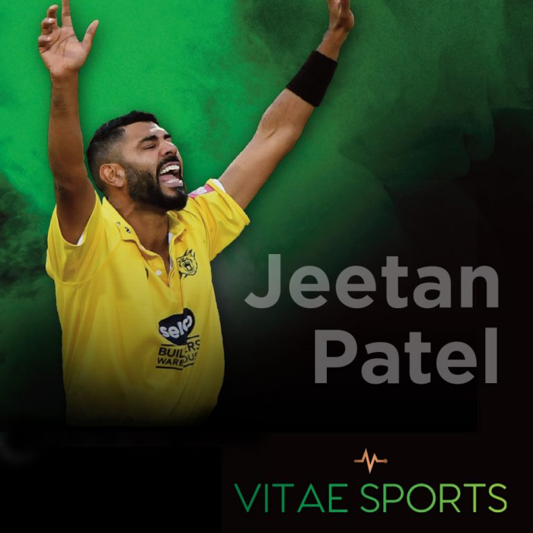 Jeetan Patel joins the England coaching team