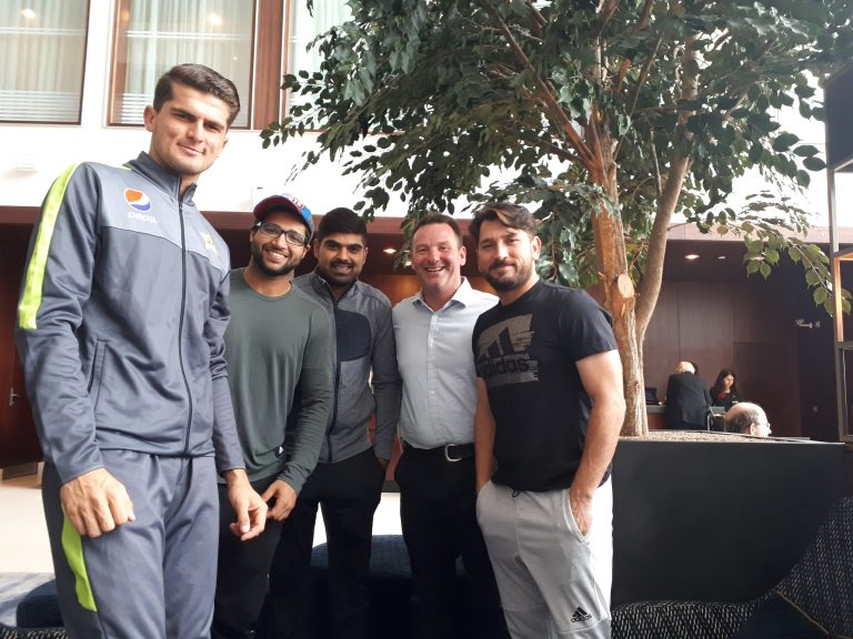 Vitae Sport catch up with Pakistan Stars before World Cup