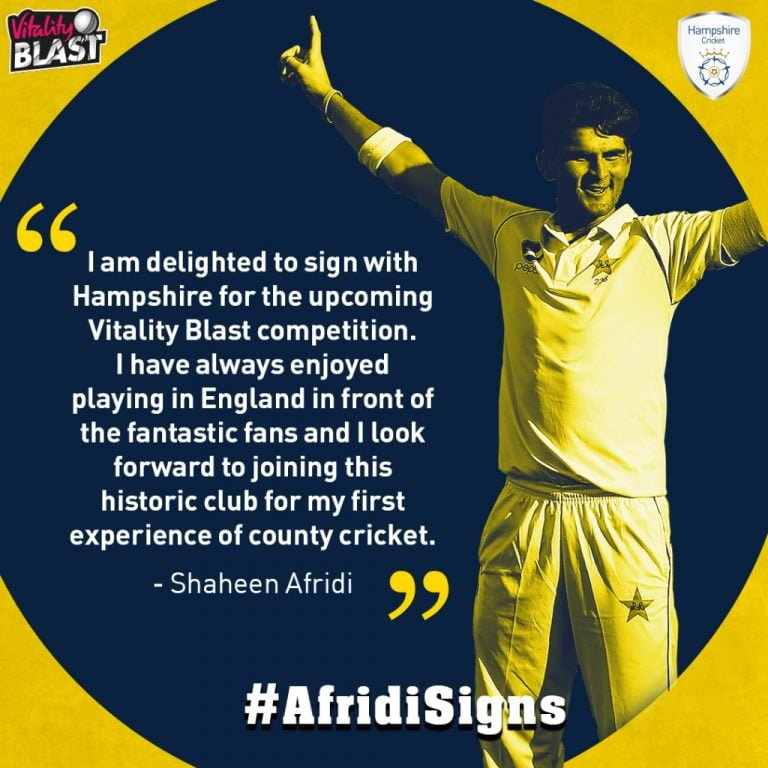 There's a new Afridi in town!