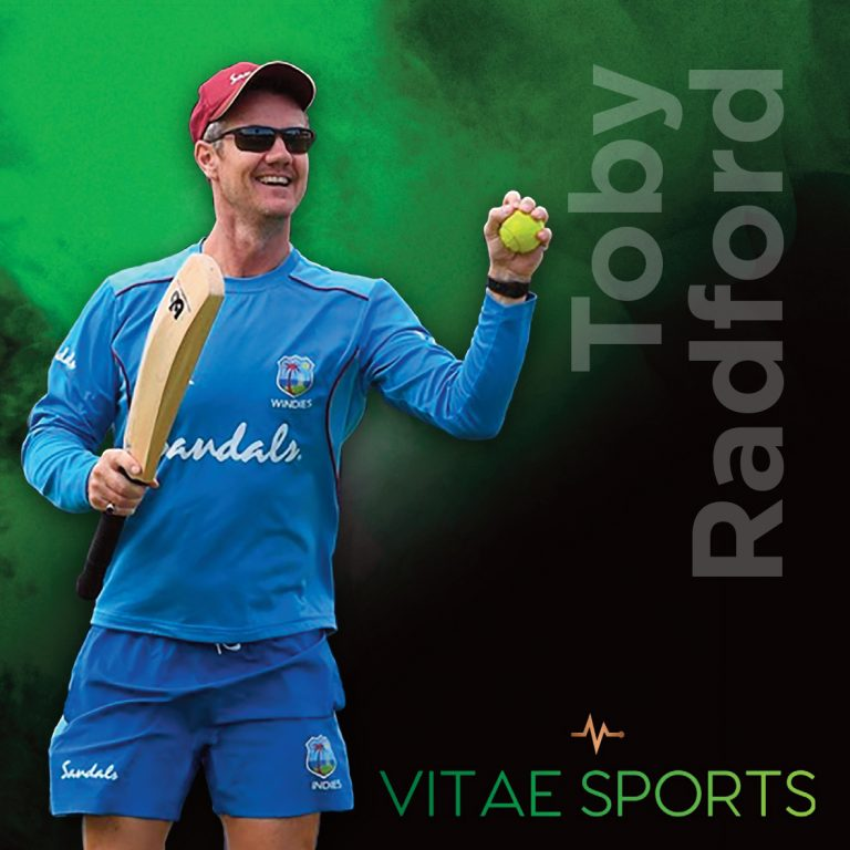 West Indies Coach Toby Radford joins the Vitae Sports Team