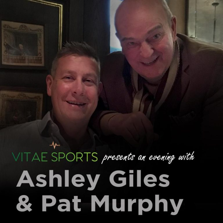 Vitae Sports present an evening with Ashley Giles and Pat Murphy