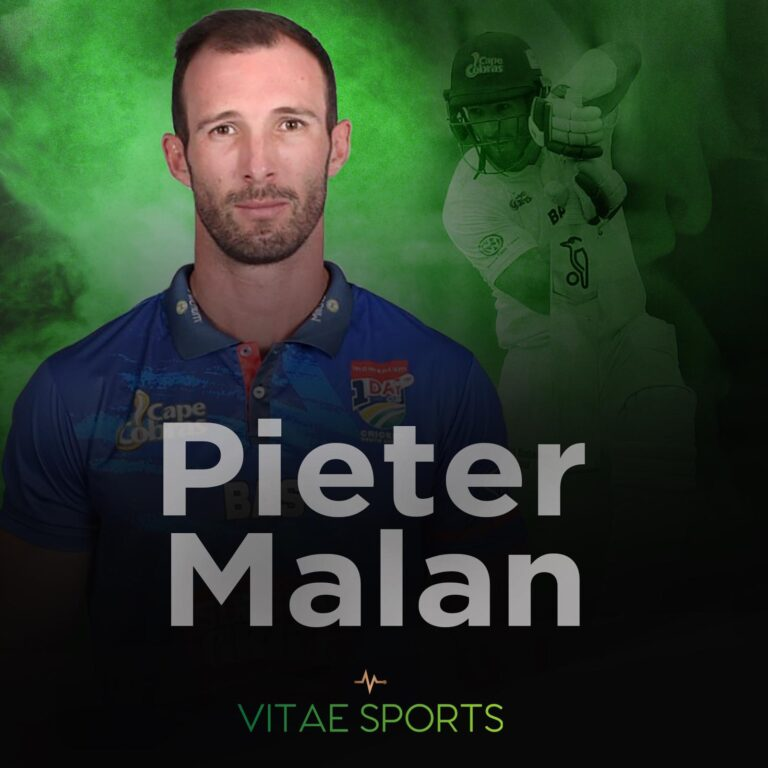 South African international joins Vitae Sports